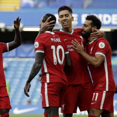 Chelsea 0-2 Liverpool: Mane Grabs Brace As Thiago Shines On Debut